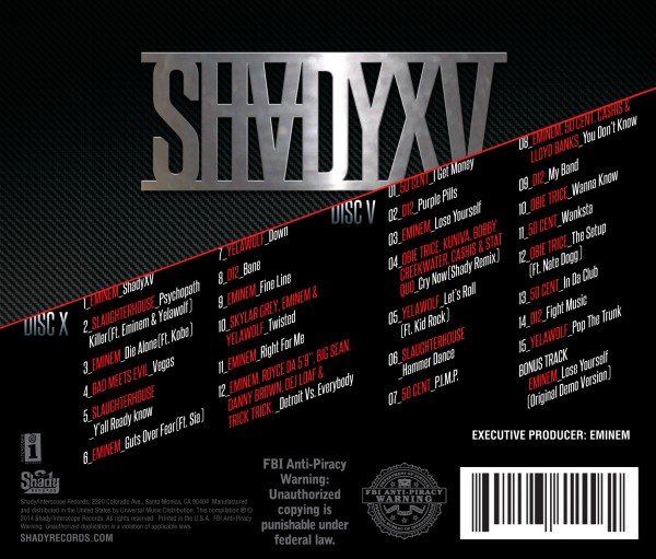 SHADYXV Bad Meets Evil - Vegas